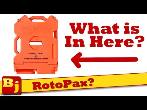What's in a RotoPax first aid kit?