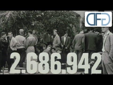 BRD-Schulungsfilm über die Flüchtlingsbewegung aus der DDR (1961)