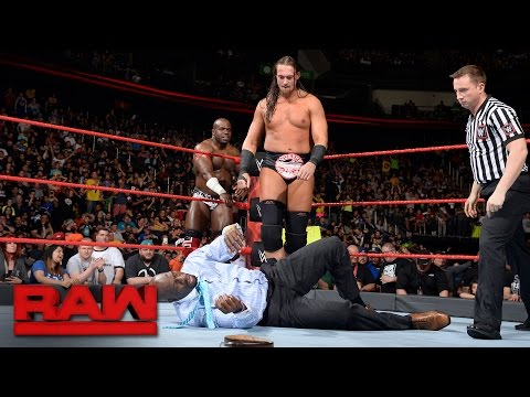 Big Cass vs. Titus O'Neil: Raw, May 15, 2017