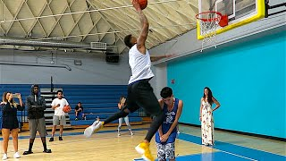 FiRST TiME GETTiNG DUNKED ON EVER!!