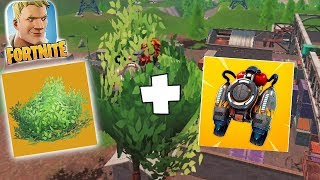 FLYING BUSH PACK!!! | Fortnite mobile | NEW UPDATE!!