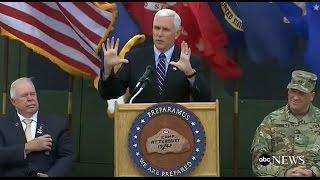 Mike Pence Full Speech at Veterans Day Ceremony