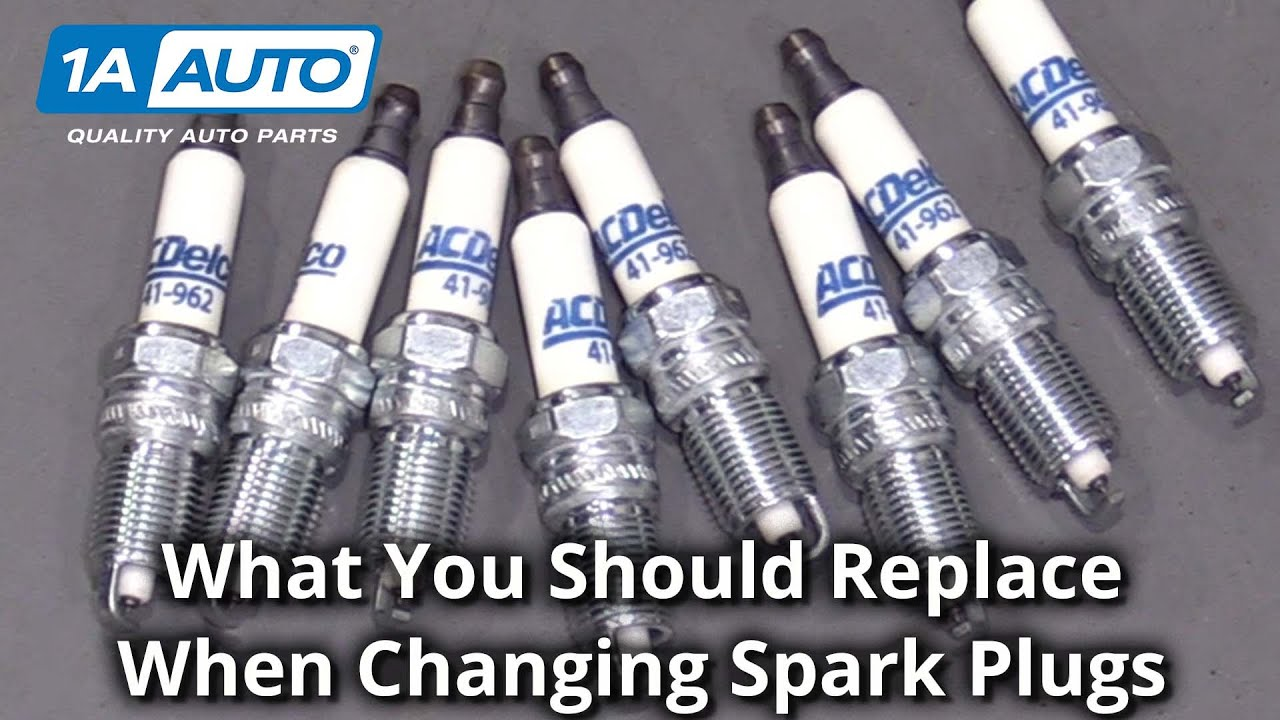 What Else to Replace When Changing Spark Plugs