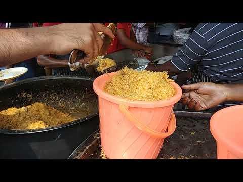 Pallavaram bilal bucket biriyani - Tamilnadu street foods