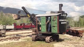 Erie Steam Navvy at Threlkeld Quarry