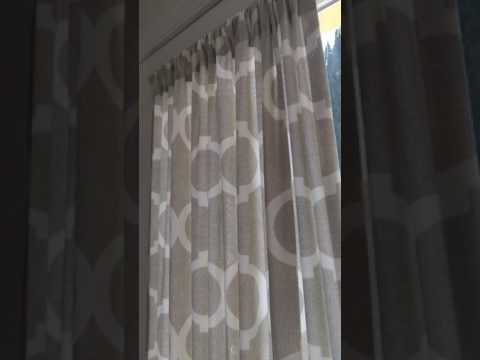 Curtains for Patio French doors