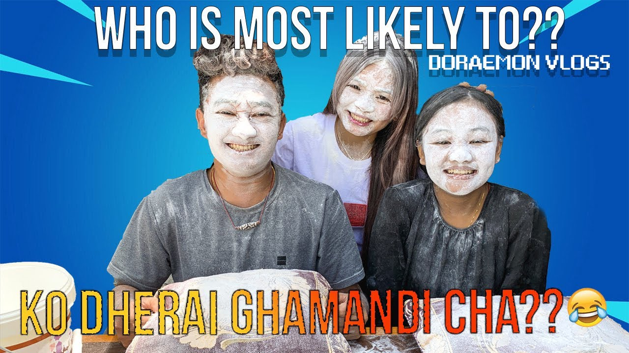 Who Is Most Likely To? || Nepali Siblings Edition || Doraemon vlogs