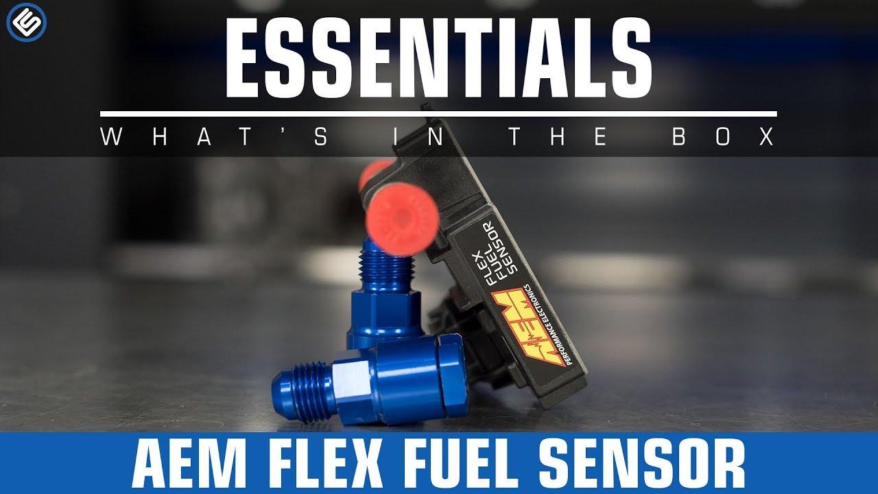 What Is Flex Fuel >> Aem Flex Fuel Sensor Universal Youtube