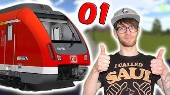 DB Zug Simulator 1 🚂 Wir sind Lokführer 🚂 Pandido Gaming