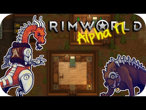 Rimworld Alpha 17 - 1. Hard Landing - Let's Play Rimworld Gameplay