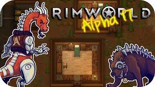 Rimworld Alpha 17 - 1. Hard Landing - Let's Play Rimworld Gameplay