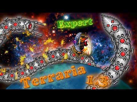 Terraria 1.3 (Expert) - Уничтожитель (The Destroyer)