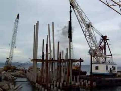 Offshore Pile Driving Youtube