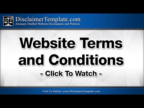 Using a Website Terms and Conditions Statement - What You Need To Know