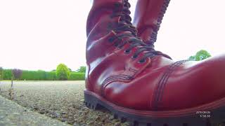 Underground 30 hole boots.