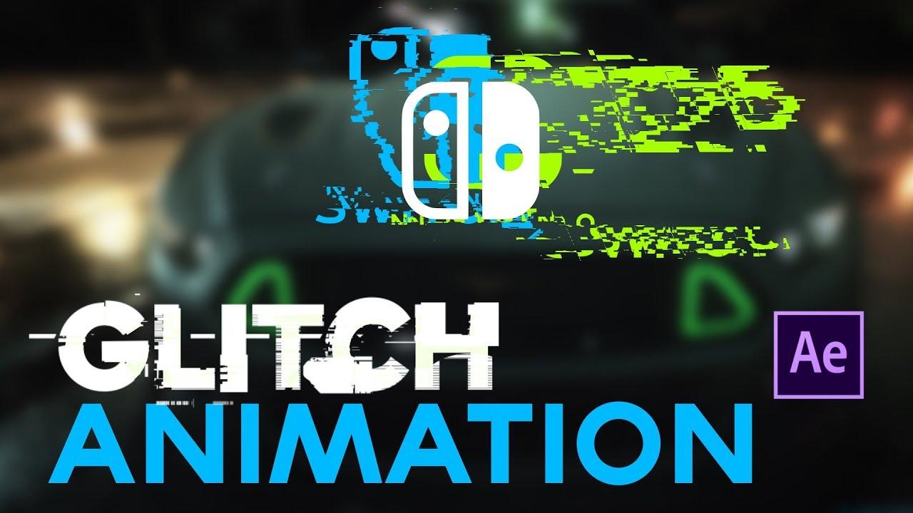 Como Hacer Glitch en Logos After Effects Tutorial