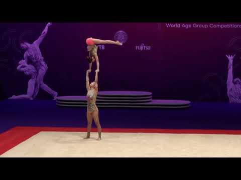 Acrobatic Gymnastics World Championship 2021 - POR Mariana Simplício e Leonor Tomás BAL