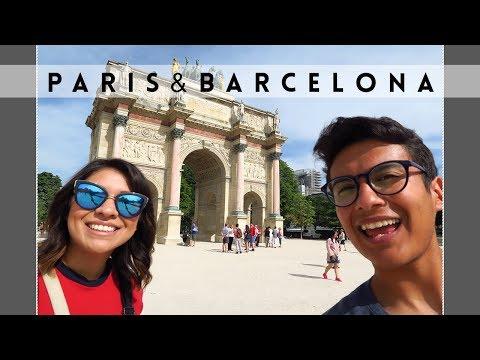 Europe Travel Vlog | Paris & Barcelona