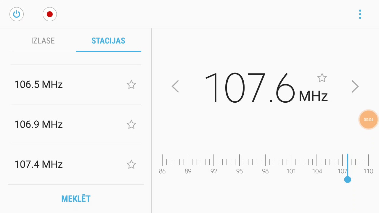 [Es] 107,6 RIX FM (ex), Helsingborg / Olympia TM, Sweden  770 km  RIX FM  playlist ID