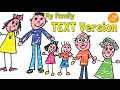 Family Song For Kids With Lyrics My Family And Me By ELF Learning mp3