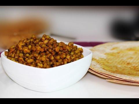 Leela Moong Nu Shaak_Jain Recipes |  ChefHarpalSingh