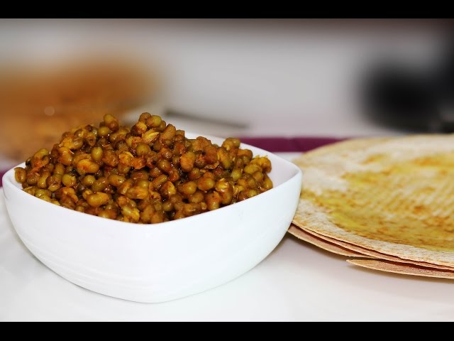 Leela Moong Nu Shaak_Jain Recipes |  ChefHarpalSingh