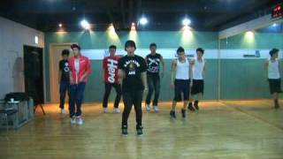[Undisclosed clip] 2PM Practicing the