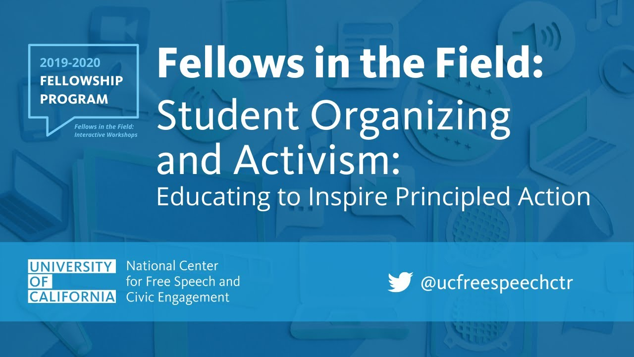 Student Organizing and Activism - Educating to Inspire Principled Action