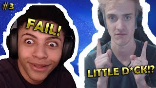 NINJA SAYS WHAT!!?? MYTH FAILS AT FORTNITE TOURNAMENT! Best and funny Fortnite  moments #3