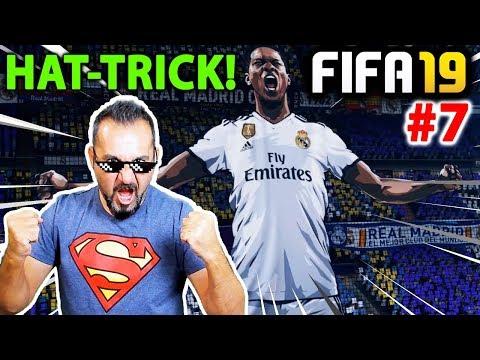 ALEX HUNTER ŞAMPİYONLAR LİGİ MAÇINDA HAT-TRICK YAPTI! | FIFA 19 YOLCULUK MODU #07