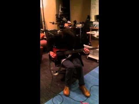 Failure- New Album.  Greg tracking Bass