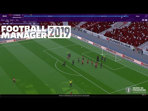 NEW FOOTBALL MANAGER 2019 FEATURES | VAR, Tactics, Training | First Look at FM19 3D Match Engine!