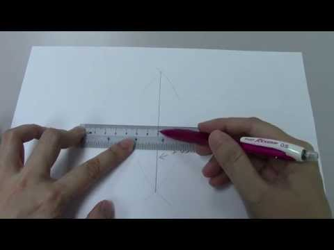 GCE O-Level E-Maths: How to Construct Perpendicular Bisector