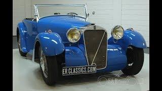 Georges Irat MDS cabriolet 1936-VIDEO- www.ERclassics.com
