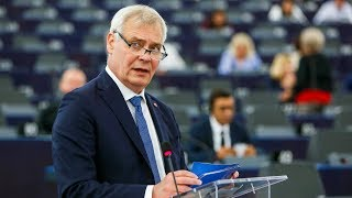 Antti Rinne Outlines Finnish Presidency Priorities In European Parliament Speech