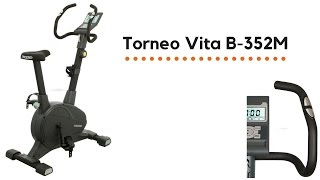 Велотренажер Torneo Vita B-352M (Торнео Вита)(Велотренажер Torneo Vita B-352M имеет магнитную систему нагрузки, что обеспечивает комфорт тренировки и плавность..., 2016-10-09T08:22:20.000Z)