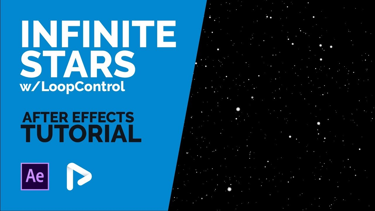After Effects Tutorial: Infinite Stars w/Loop Control