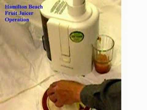 hamilton beach juicer youtube rh youtube com Big Mouth Juicer Replacement Parts For Craigslist Hamilton Beach 932