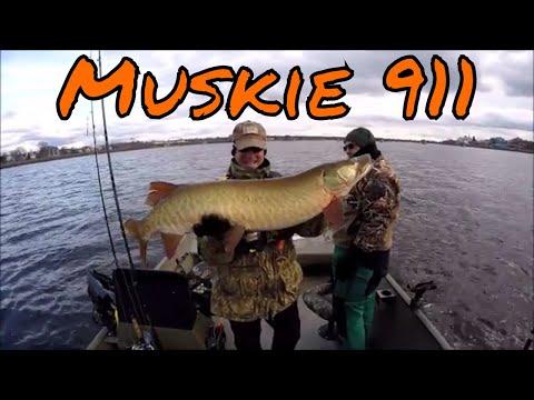 Muskie Fishing In NB Canada December 2017