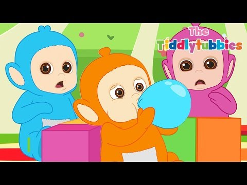 Teletubbies ★ NEUE Tiddlytubbies Kartoon Serie ★ Episode 6: Balloons ★ Kartoon für Kinder