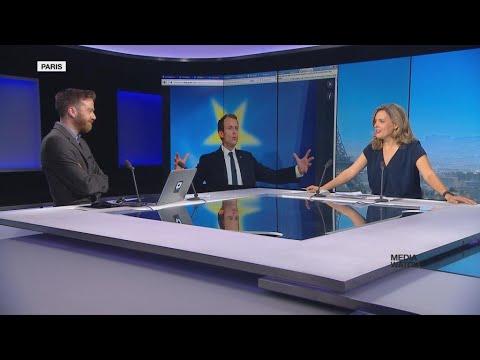 Macron's EU speech at the Sorbonne in online reactions
