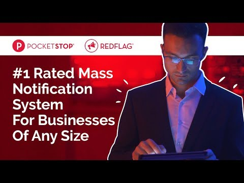 RedFlag, #1 Mass Notification System For Any Business