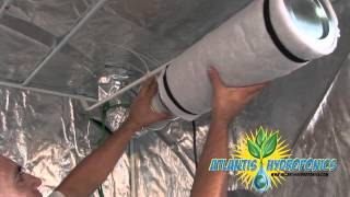 Atlantis Hydroponics™ presents an instructional grow room video on ...