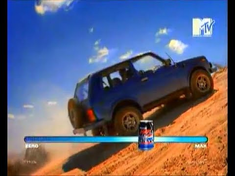 [Commercial With Niva]'Racing' - LADA Niva In Pepsi Max MTV 2007