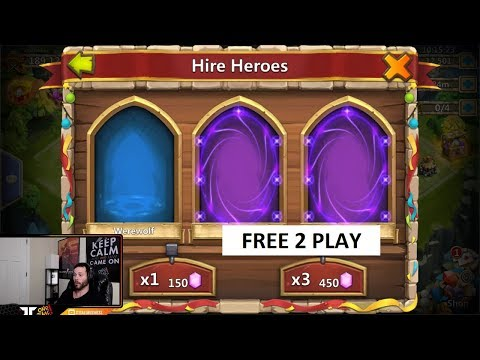 Rolling 30000 Free 2 PLay Gems For Asura New Hero Castle Clash