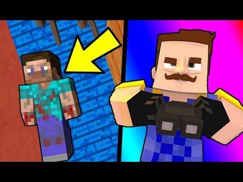 SZOMSZÉD TITKA KIDERÜLT! 👮 Minecraft Hello Neighbor #1! letöltés