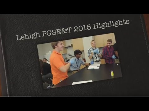 2015 Pennsylvania Governor's School for Engineering and Technology