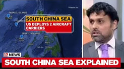 US Deploys 2 Aircraft Carriers: Dr Sreeram Chaulia Explains Tensions In South China Sea