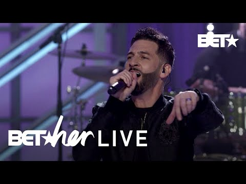 Jon B Brings The Vibes To BET Her Live With 'Don't Talk' Performance!