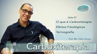 Carboxiterapia - Efeitos fisiológicos e termografia (Aula 1)